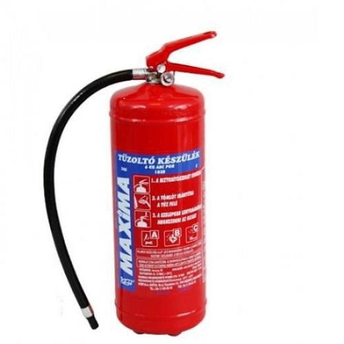 6Kg-os Porral oltó tűzoltókészülék