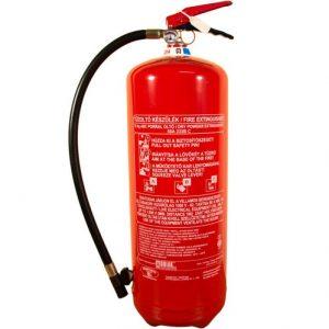 12 kg-os porral oltó tűzoltó készülék