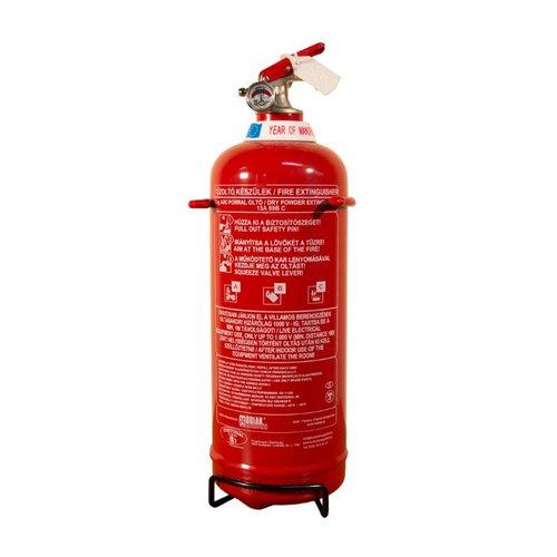 2 kg-os porral oltó tűzoltó készülék